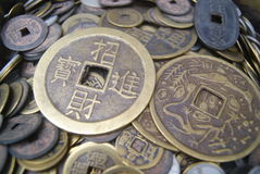 Chinese ancient coins Royalty Free Stock Images
