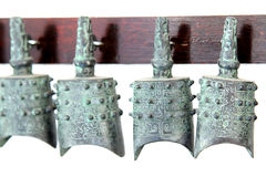 Chinese ancient cultural relics unearthed bells Royalty Free Stock Images