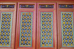 Chinese ancient door decorations Stock Image