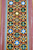 Chinese ancient door decorations Stock Images