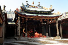 Chinese ancient dragon mother temple, Longmu temple Stock Photography