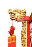 Chinese ancient Dragon statue Stock Photos