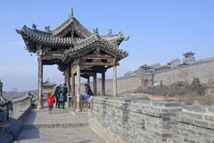 Chinese ancient dwelling Stock Photo