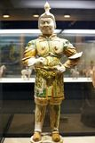 Chinese ancient figure statue of Tang dynasty. Chinese ancient figure statue - Tang dynasty stock photo