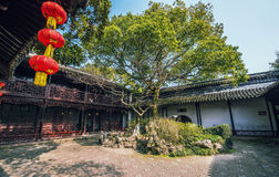 Chinese ancient folk house Royalty Free Stock Images