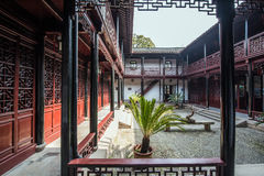 Chinese ancient folk house Stock Photos