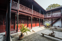 Chinese ancient folk house Royalty Free Stock Photo