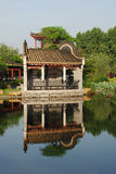 The Chinese ancient garden Stock Image