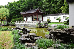 Chinese ancient garden Stock Photos