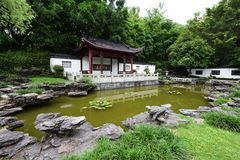 Chinese ancient garden Royalty Free Stock Photography