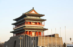Chinese ancient gate Royalty Free Stock Photo