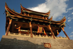 Chinese ancient gate tower Royalty Free Stock Photography