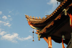 Chinese ancient gate tower Stock Images