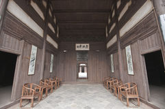 Chinese ancient hall Royalty Free Stock Image