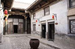 Chinese ancient house building Royalty Free Stock Photo