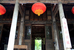 Chinese ancient house decoration Stock Image