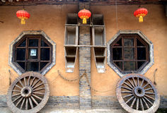 Chinese ancient house decoration Royalty Free Stock Image