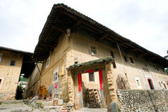 Chinese ancient house,fujian province,china Stock Image