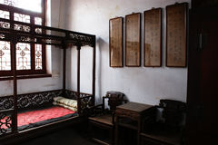 Chinese ancient living room. This is a chinese ancient living room Stock Photo
