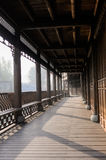 Chinese ancient-looking gallery Stock Photography