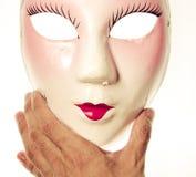 Chinese ancient opera mask Stock Photos