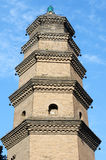 Chinese ancient pagoda Royalty Free Stock Photo