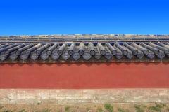 Chinese ancient palace walls Royalty Free Stock Image