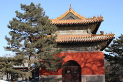 Chinese ancient pavilion Royalty Free Stock Photos