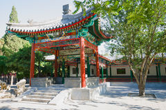Chinese ancient pavilion Stock Photography