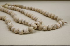 Chinese ancient pottery: Beads Stock Photography