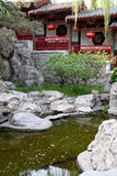 Chinese ancient royal garden. Royalty Free Stock Images