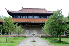 The Chinese ancient school in Wuyi mountain Royalty Free Stock Image