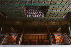Chinese ancient stage Royalty Free Stock Image