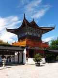 Chinese ancient temple. In lijiang Royalty Free Stock Photography