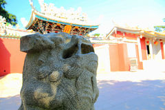 Chinese ancient temple in Dongshan island. Located in Fujian province , China Royalty Free Stock Photo