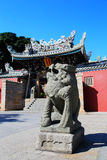 Chinese ancient temple in Dongshan island. Located in Fujian province , China Stock Photography