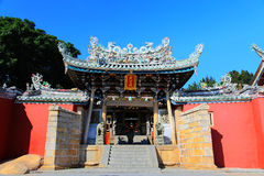 Chinese ancient temple in Dongshan island. Located in Fujian province , China Stock Image