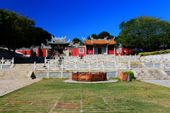 Chinese ancient temple in Dongshan island. Located in Fujian province , China Stock Photo