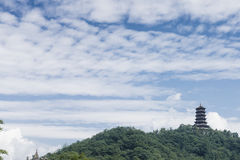 Chinese ancient pagoda Royalty Free Stock Photography