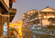 Chinese ancient town Stock Photos