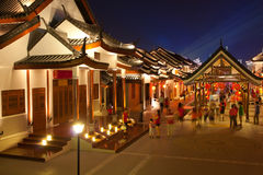 Chinese ancient town Stock Images