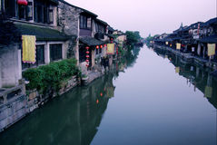 Chinese Ancient Town Of Xitang Stock Images