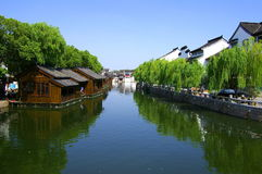 Chinese ancient town tong li Royalty Free Stock Photos