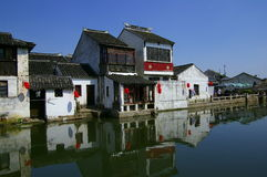 Chinese ancient town tong li Stock Images