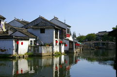 Chinese ancient town tong li Royalty Free Stock Image