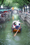 Chinese ancient town in Tongli stock photo