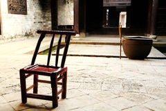 The chinese ancient town of zhangguying village Royalty Free Stock Images