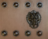 Chinese ancient traditional door Royalty Free Stock Photos