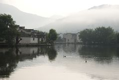Chinese ancient village Stock Photography