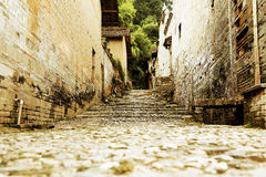 Chinese ancient village Royalty Free Stock Images